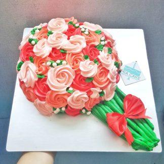 bánh kem bó hoa