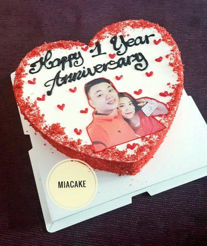 Bánh kỉ niệm 1 năm yêu nhau
