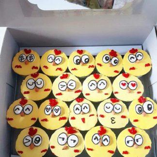 Cupcake gà con dễ thương