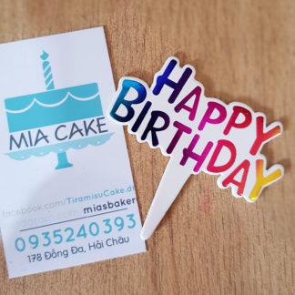 phụ kiện trang trí bánh sinh nhật