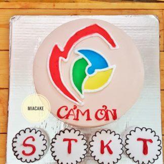 Bánh vẽ logo công ty