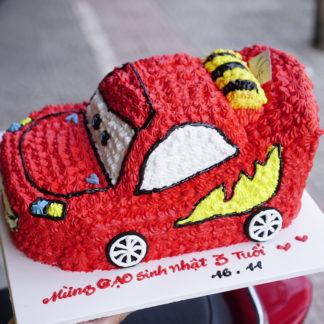 bánh kem xe ô tô - xe đua