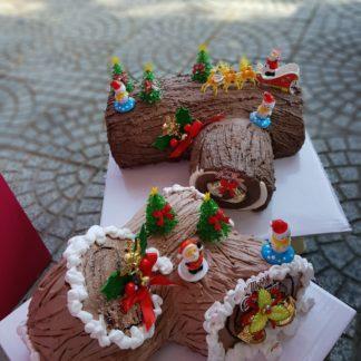Mẫu bánh khúc cây dành tặng cho noel