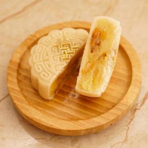 Bánh Trung Thu Vỏ Trắng nhân Hạt Sen Long Nhãn