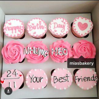 Mẫu bánh cupcake đà nẵng tặng bạn [Mã 139]