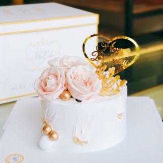 mẫu bánh hoa xinh xắn
