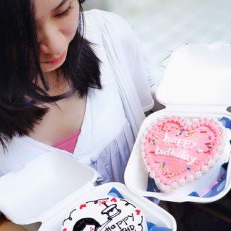 mẫu bánh phong cách hàn quốc
